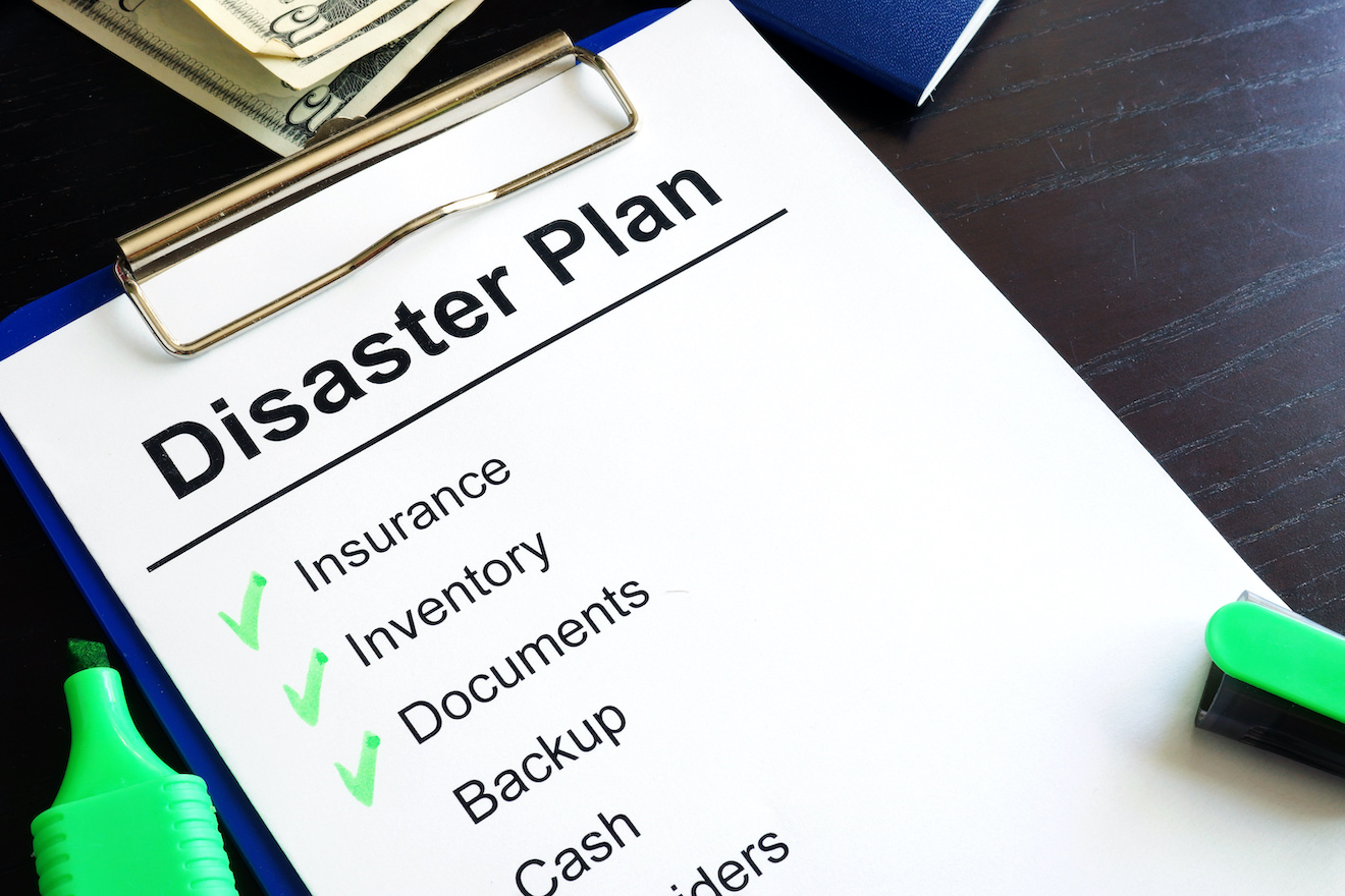 checklist for financial safety in a disaster